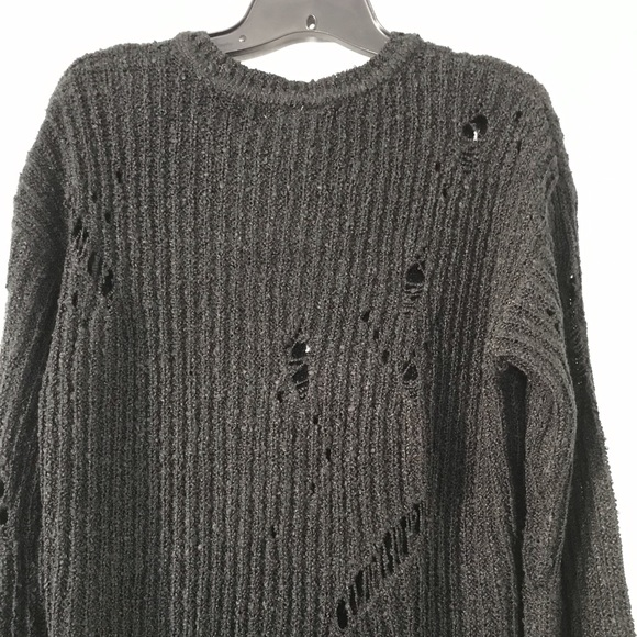 Planet Gold Juniors Ripped Sweater